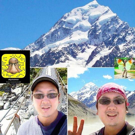Scaling highest mountain - MountCook - vicsimon | ello