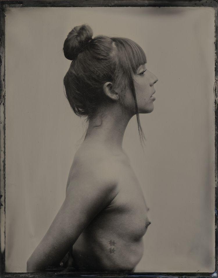 Elizabeth - tintype, collodion, altprocess - lacunha | ello