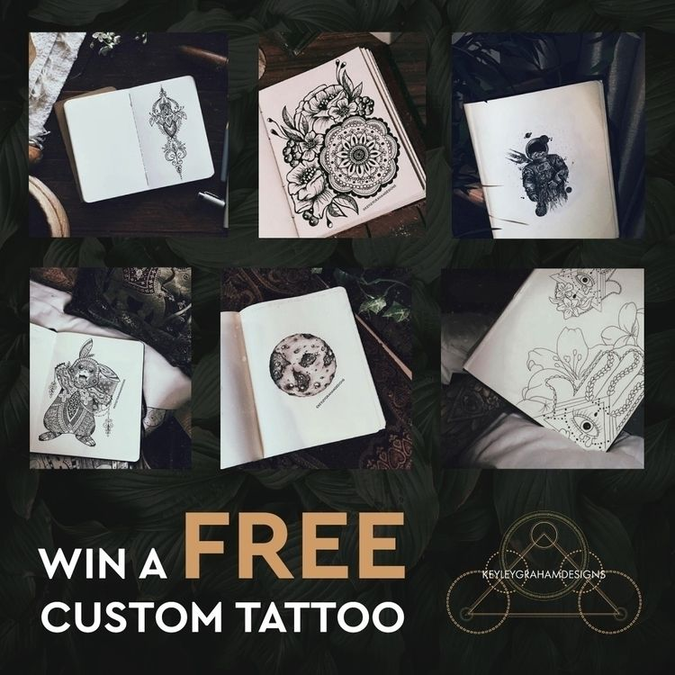 COMPETITION TIME! Thinking tatt - keyleygrahamdesigns | ello
