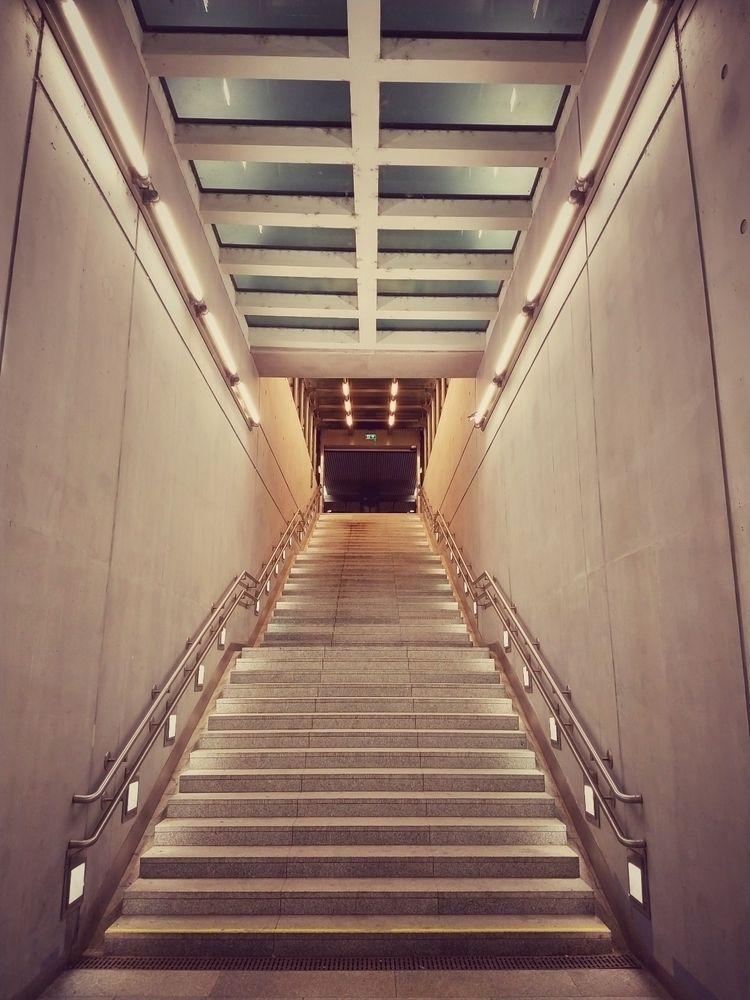 station, stairs, concrete, brutalism - claudio_g_c | ello