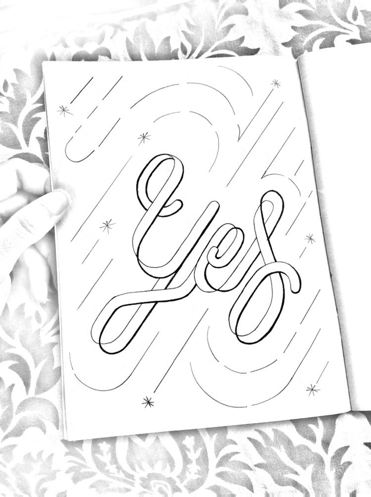dailypractice, practice2018jo - lettergraphic | ello