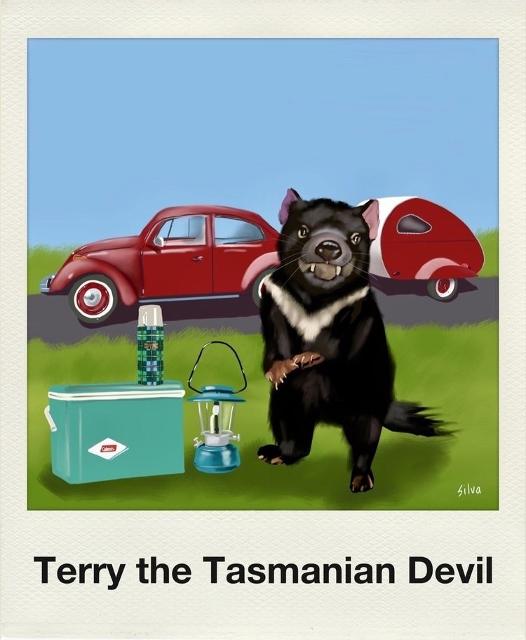 Meet Terry Tasmanian Devil - artworkbysilva - nightrav3n | ello