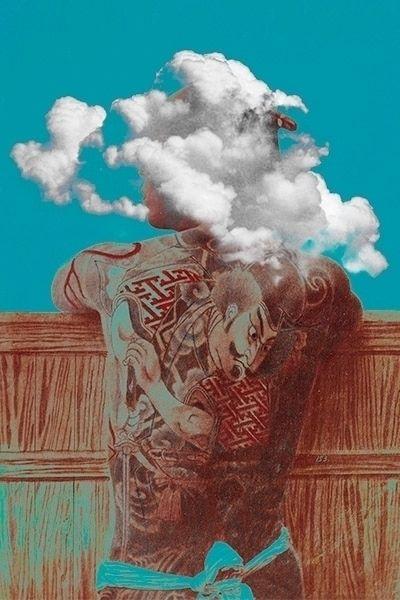waking dream - collage, tattoo, idea - rencfer | ello
