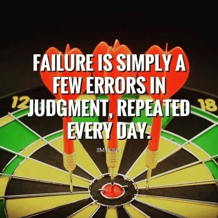 Failure Simply... Errors Judgem - dare2bare | ello