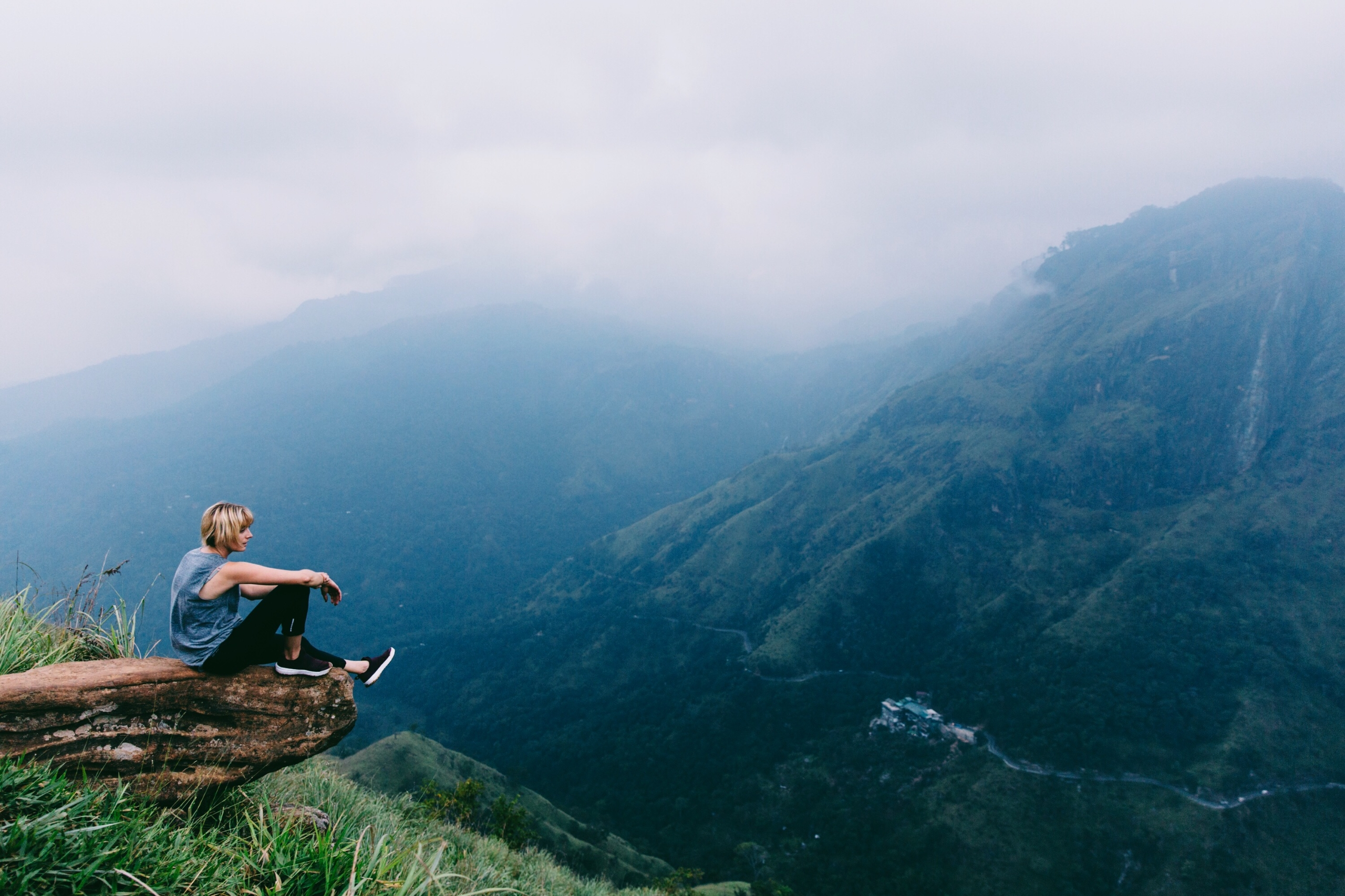Sitting edge world. photos Sri  - lauraaustin | ello