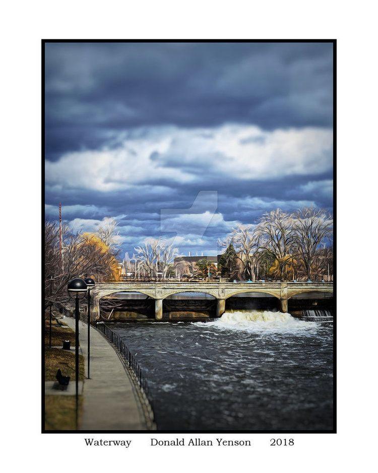 Waterway shot Flint, MI. 2018 P - donyenson   ello