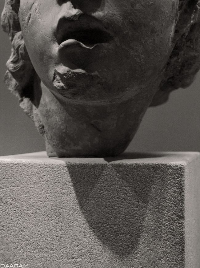 Pain: Study statue: Head charac - daaram | ello