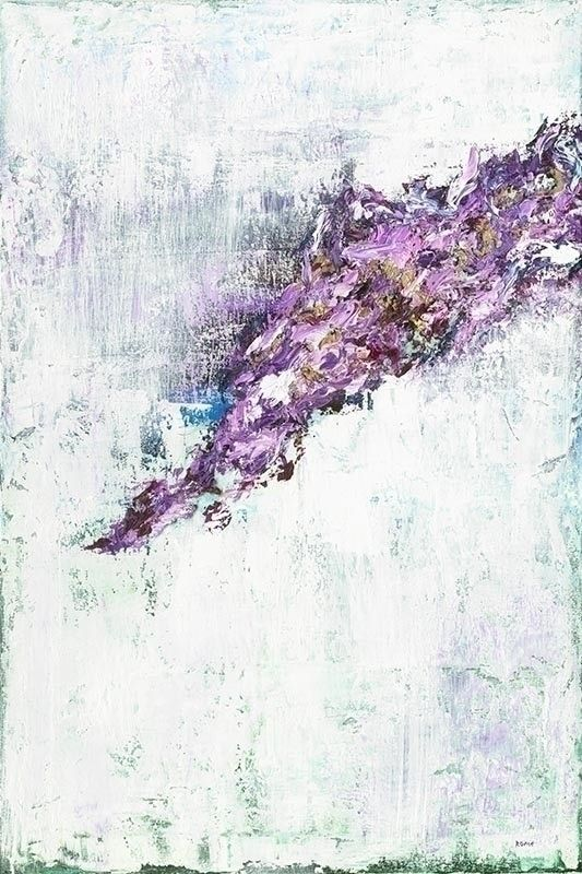 Amethyst 20″x30″ Oil Canvas tex - cogwurx | ello