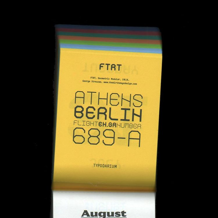 31th July monospaced TBD-FTRT f - strouzas | ello