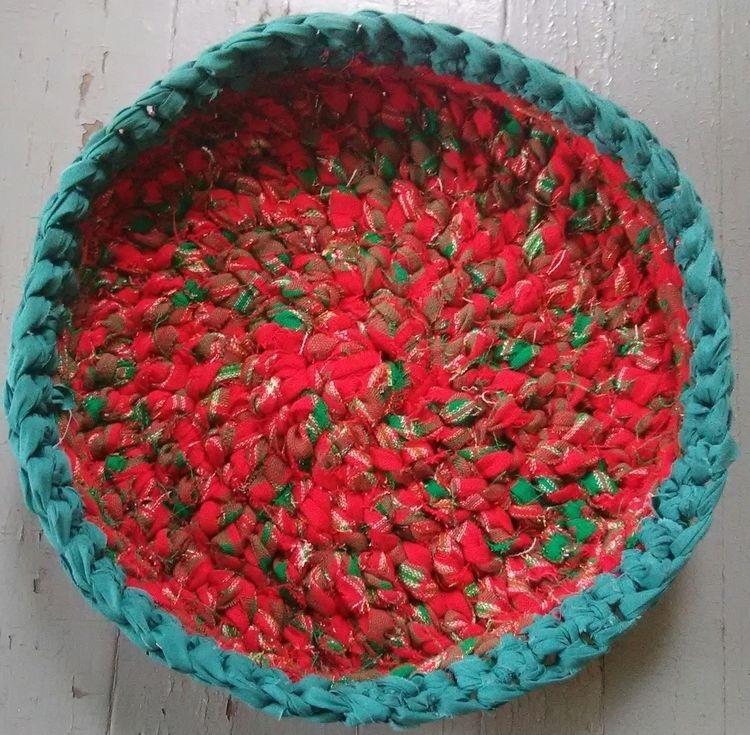 SOLD...Eco Handmade Crochet Rag - maryherrigfiberarts | ello