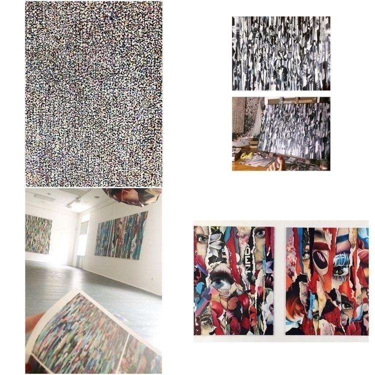 Paintings- fortoday- exhibition - zsuzsics | ello
