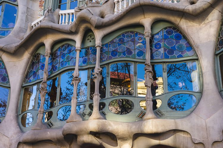 AntoniGaudí, Barcelona, Spain - banastas | ello