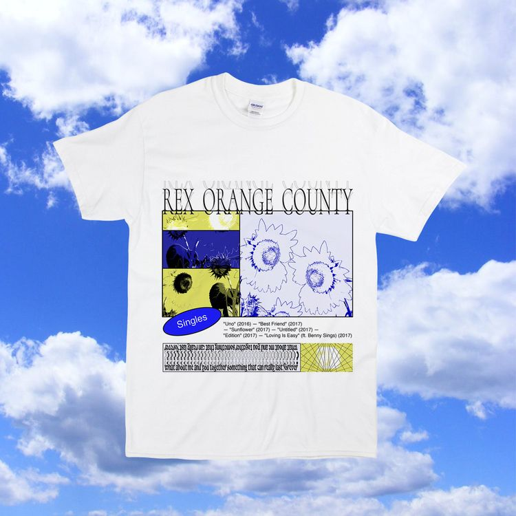 Bootleg shirt design Rex Orange - bringouttheguns | ello
