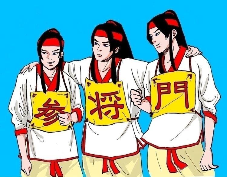 武侠, カンフー, kungfu, illust, Illustration - cultpink | ello