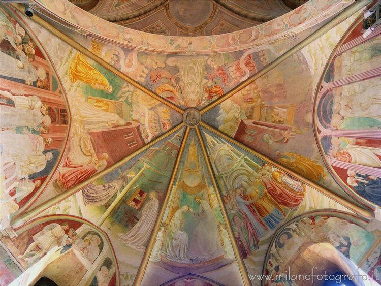 Castiglione Olona ( Vault apse  - milanofotografo | ello