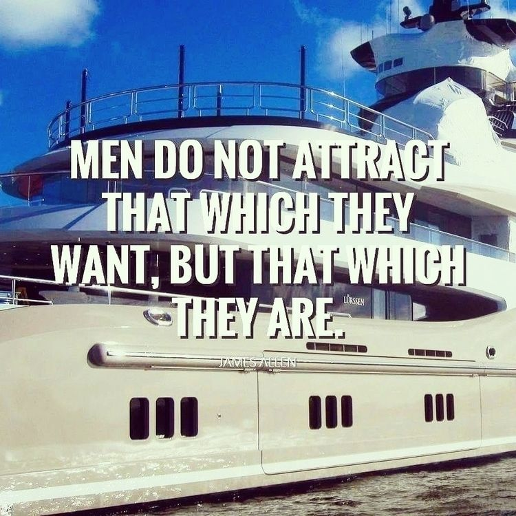 Men Attract . James Allen~ - athingaday - dare2bare | ello