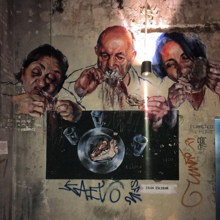 Gluttony - Madrid, Matadero, streetart - antoniofse | ello