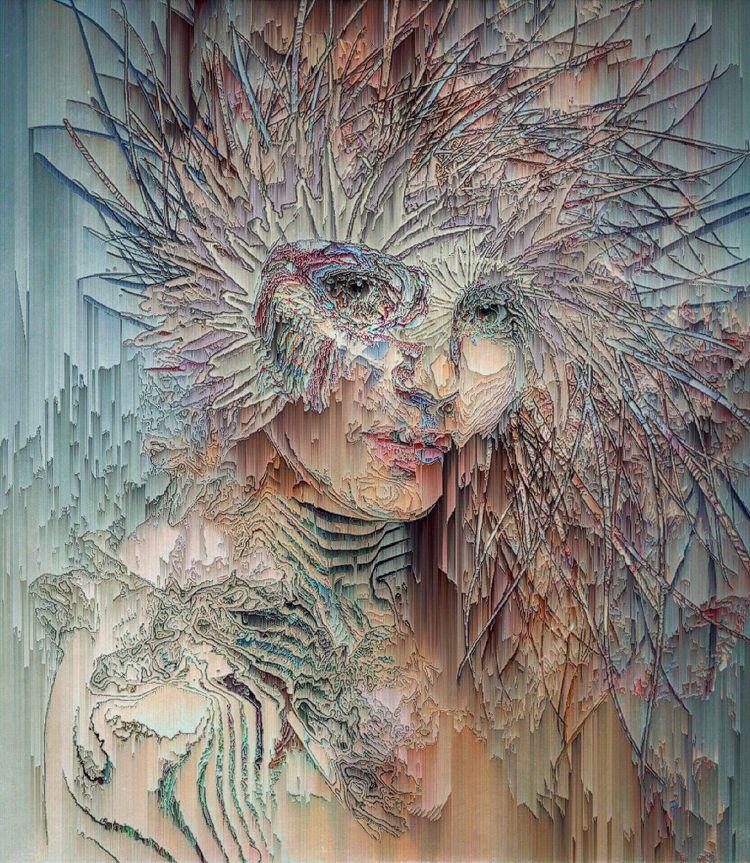 ⤾ delving  - digitalart, abstractart - ikatch | ello