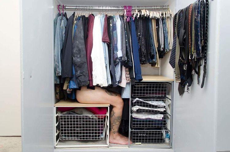 closet, photo, photography, selfpotrait - nspegis | ello