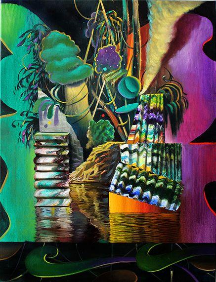 Bureau Oil canvas, 70 50 cm, 20 - maximbrandt | ello