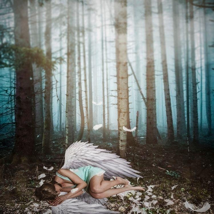 angel#forest#woman# - leonorakohanec | ello