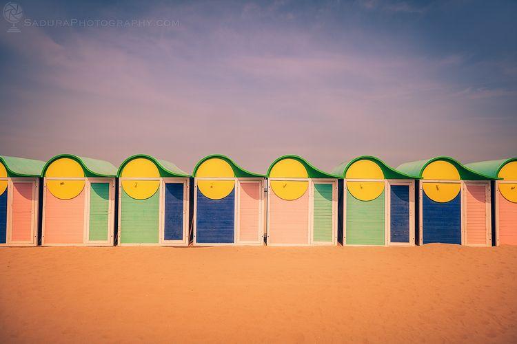 Beach cabins Dunkirk Dunkirk, H - hsphotos | ello