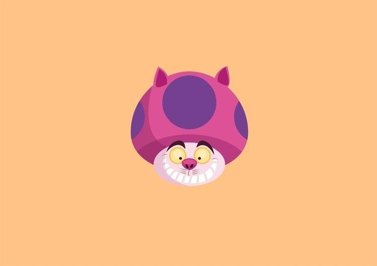 cheshire cat | alice wonderland - chihipso | ello