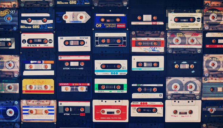 Lost Tapes - cassette, retro, vintage - eye-dj | ello
