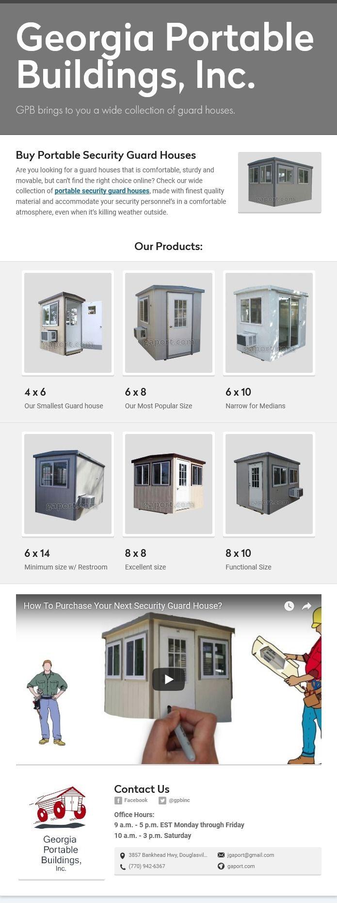Buy Guard House Buildings - guardhouses | ello