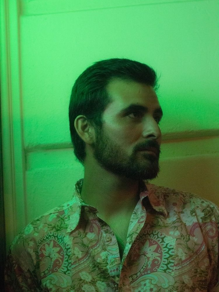 photogragphy, neon, green, malemodel - ashtonwells | ello
