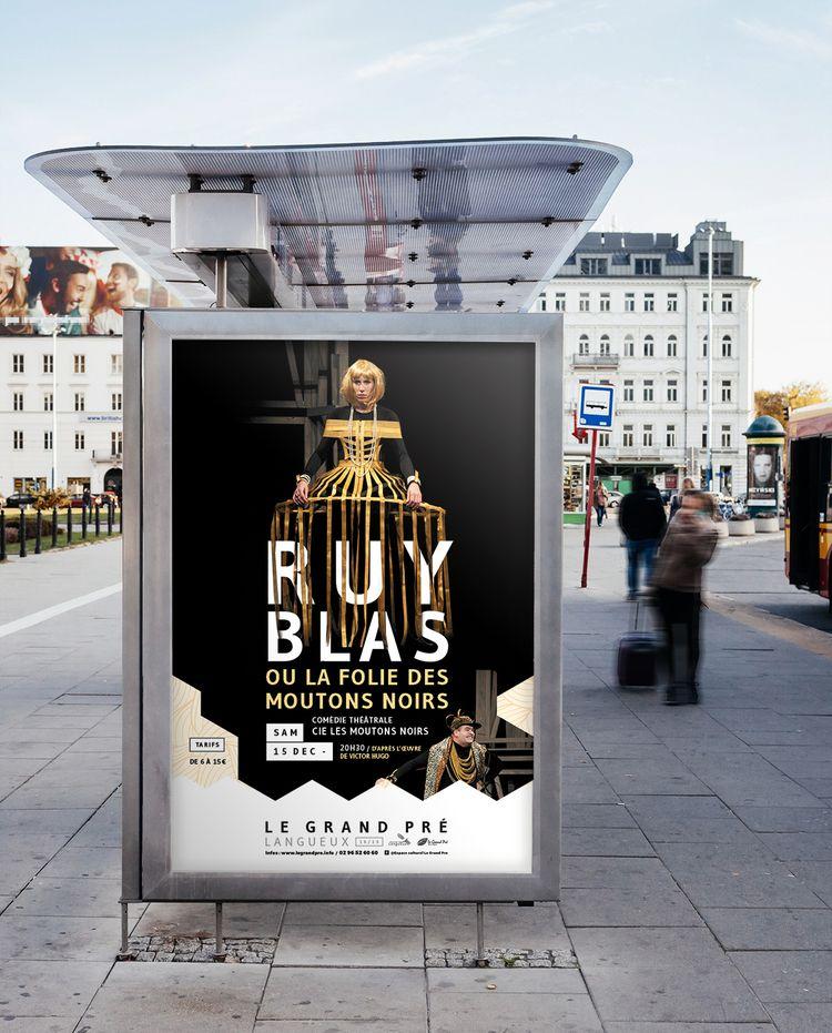 Ruy Blas poster - Le Grand Pré  - dezzig   ello