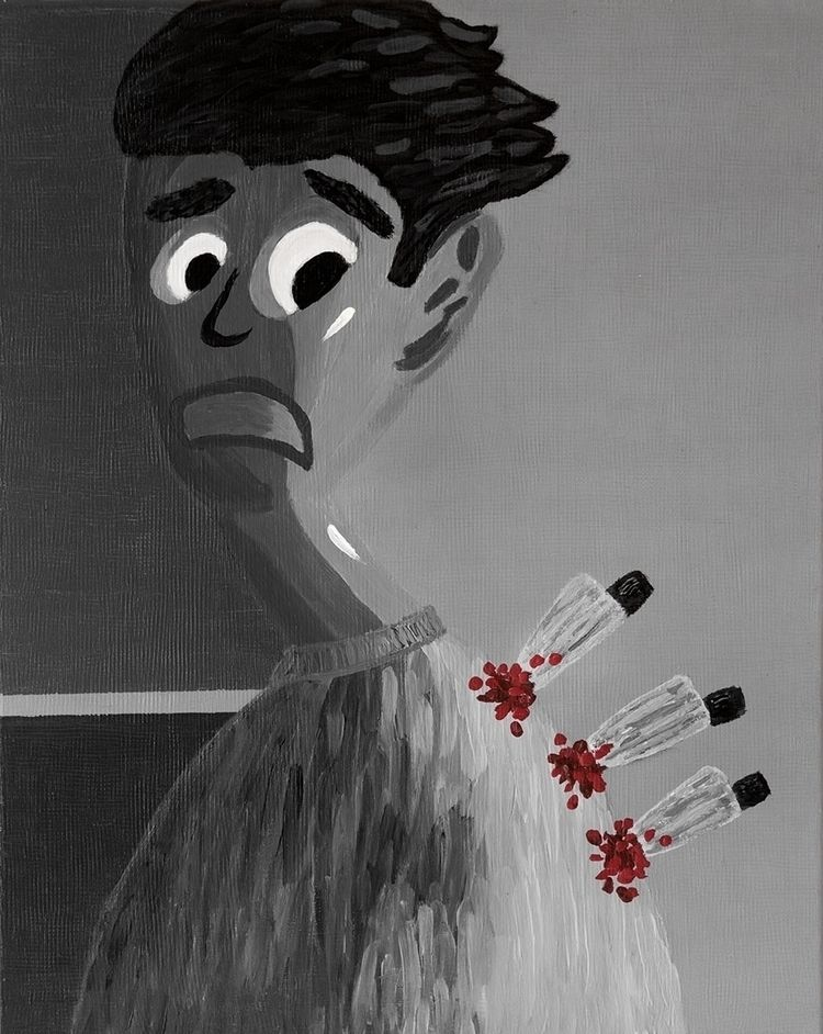 "collected knives day portrait""  - zeren   ello"