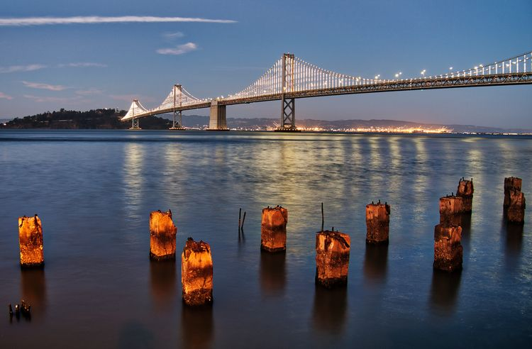 Bay Bridge - San Francisco Trea - neilhoward | ello
