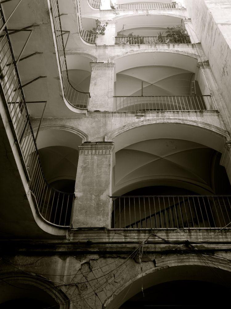napoli,, photography,, building, - fiertedecactus | ello