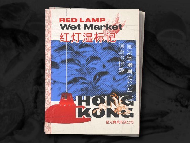 poster, hongkong, lamp, crab - robwearsglasses | ello