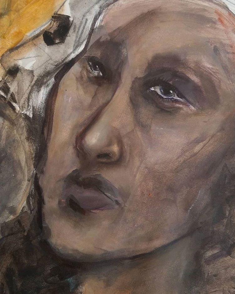 Lady Painting Sarafina Collura - sarafina_collura | ello