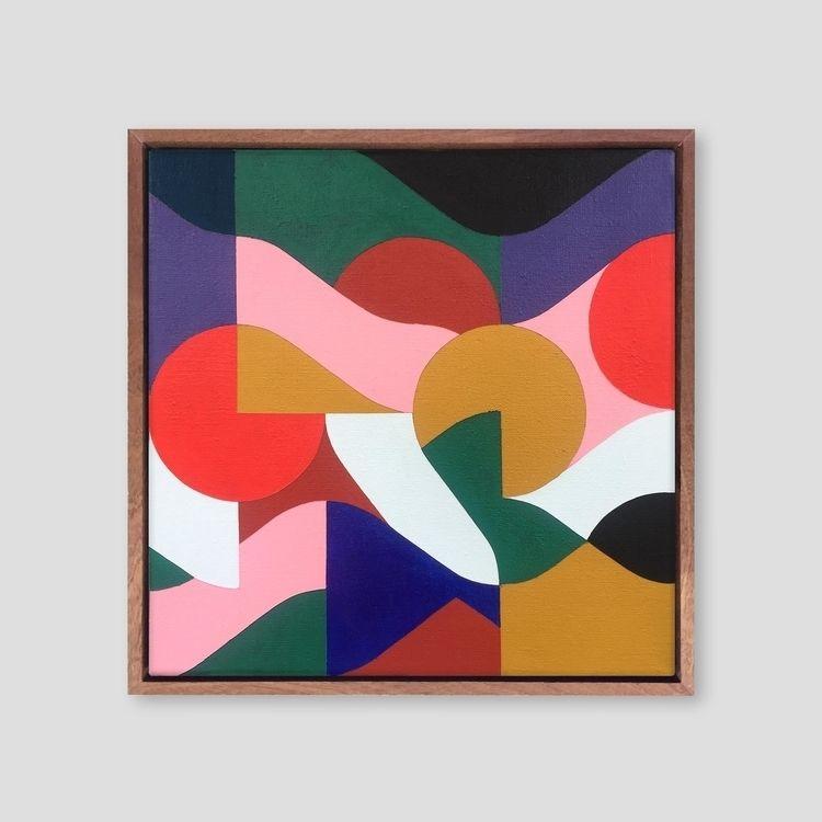 Square Composition 11 41 cm | a - samsmythart | ello