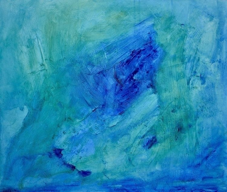 Ode Bay Original acrylic painti - createdbychrista | ello
