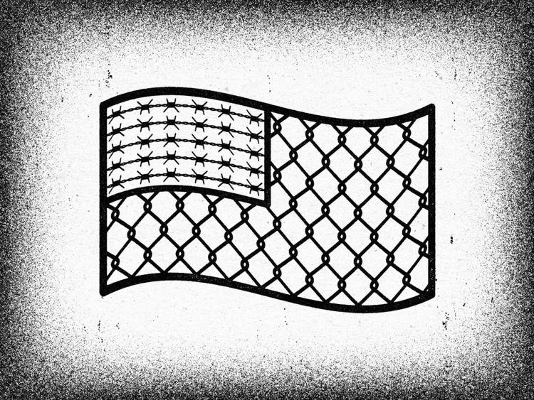 Fenced Flag. Alexei Vella Textu - alexeivella | ello