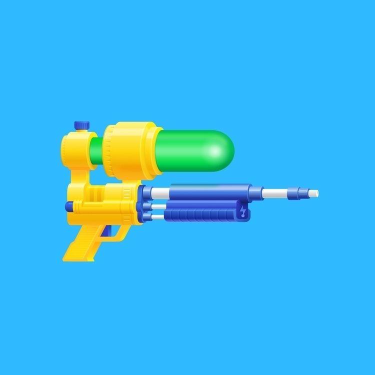 Super Soaker Affinity Designer  - rosvectors | ello