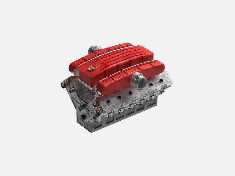 Ferrari Engine V12 Lao GanMa - design - chengtaoyi | ello