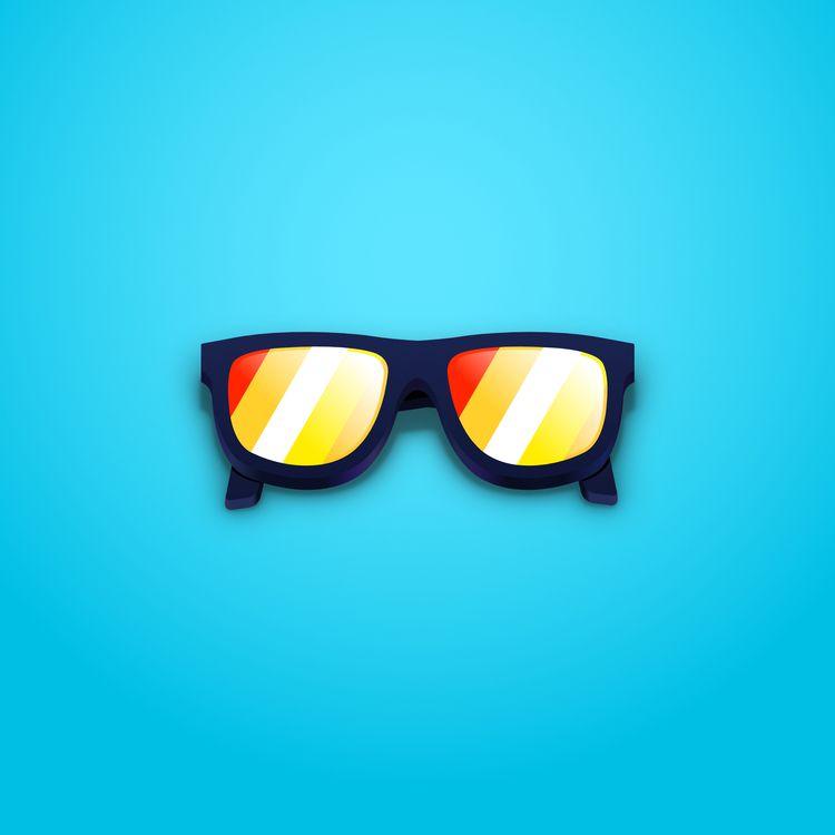 Sunglasses. Affinity Designer S - rosvectors | ello