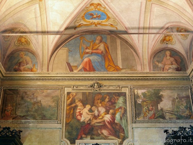 ( ): Frescoes sacristy Sant'Ale - milanofotografo | ello