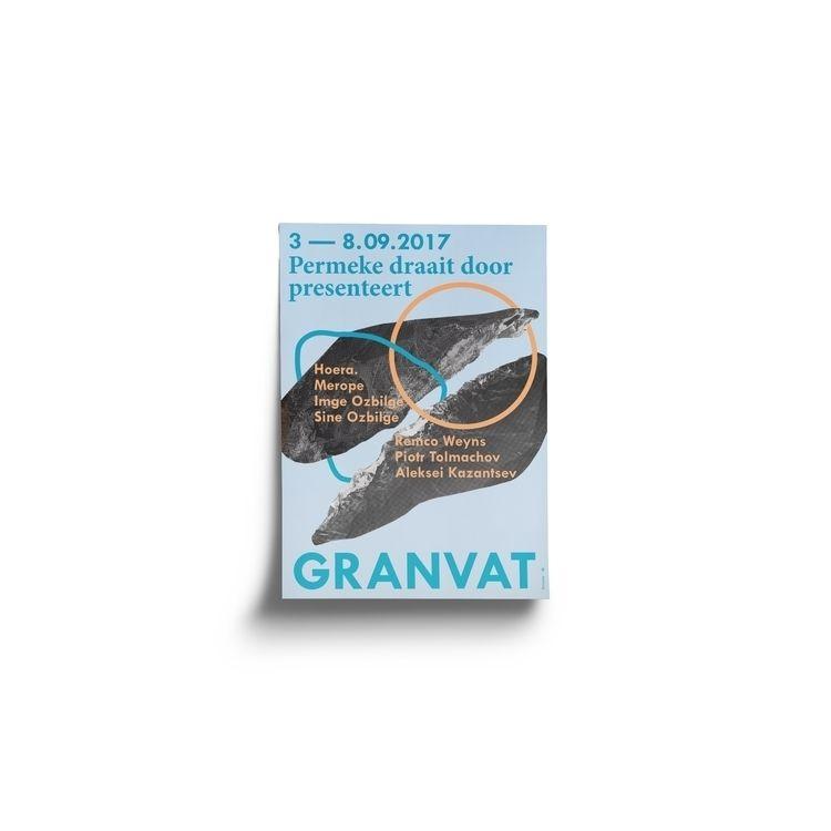 Poster designed GRANVAT — Event - evelinekurylak | ello