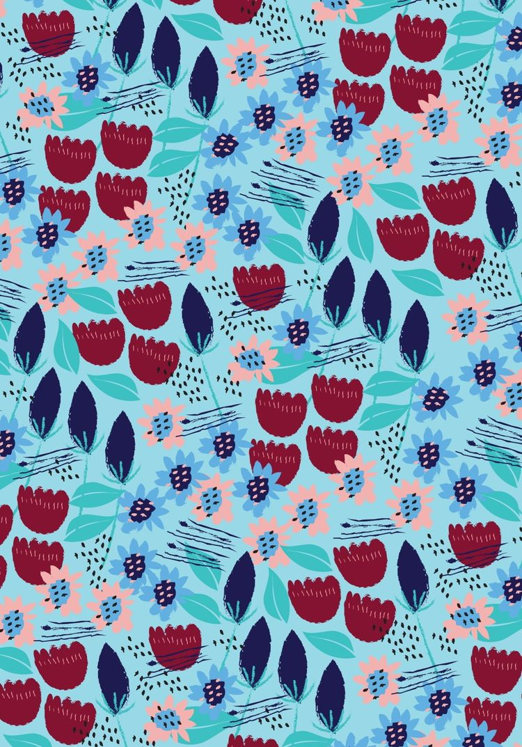 illustration, design, surfacepattern - cleageorgiou | ello