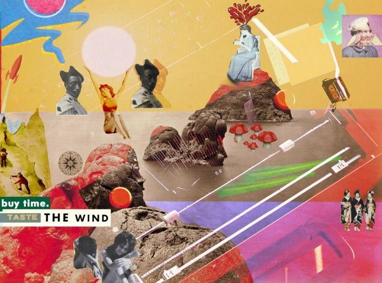 Taste Wind (2018 - collage, vintagecollage - jordanleewade | ello