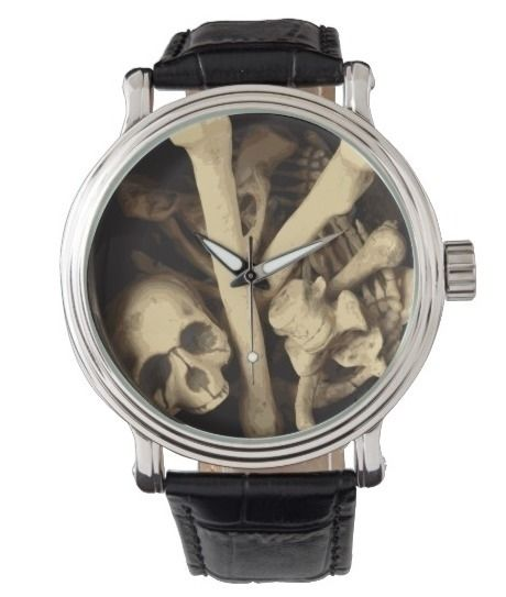 Caldron bones watch illustratio - someartworker | ello