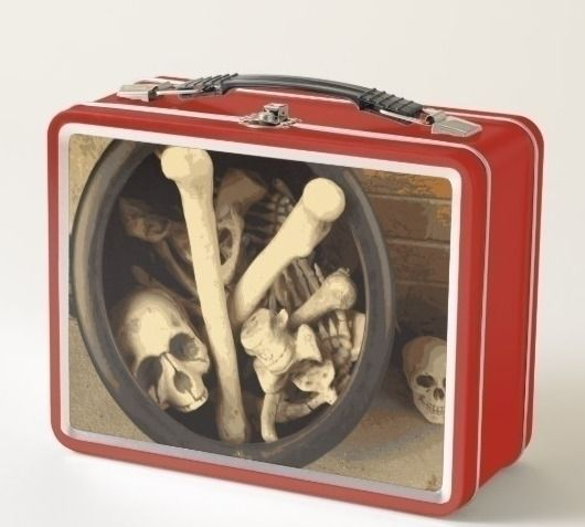 Caldron bones lunch box illustr - someartworker | ello