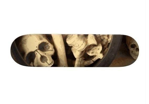 Caldron bones skateboard illust - someartworker | ello