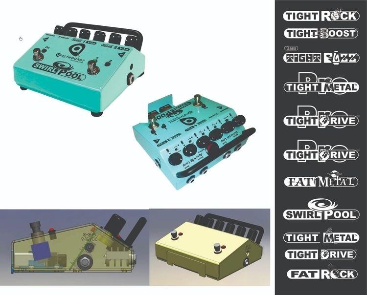 Amptweaker Guitar Pedal Design  - bobhopkins | ello